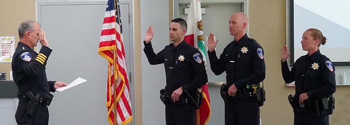 SRPD Police Officer Swearing In