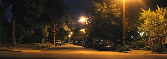 Street lights at Night v2