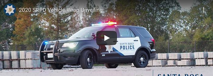 SRPD New Vehicle Wrap Design