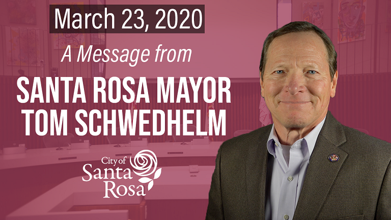 Mayor Schwedheld 3.23.20