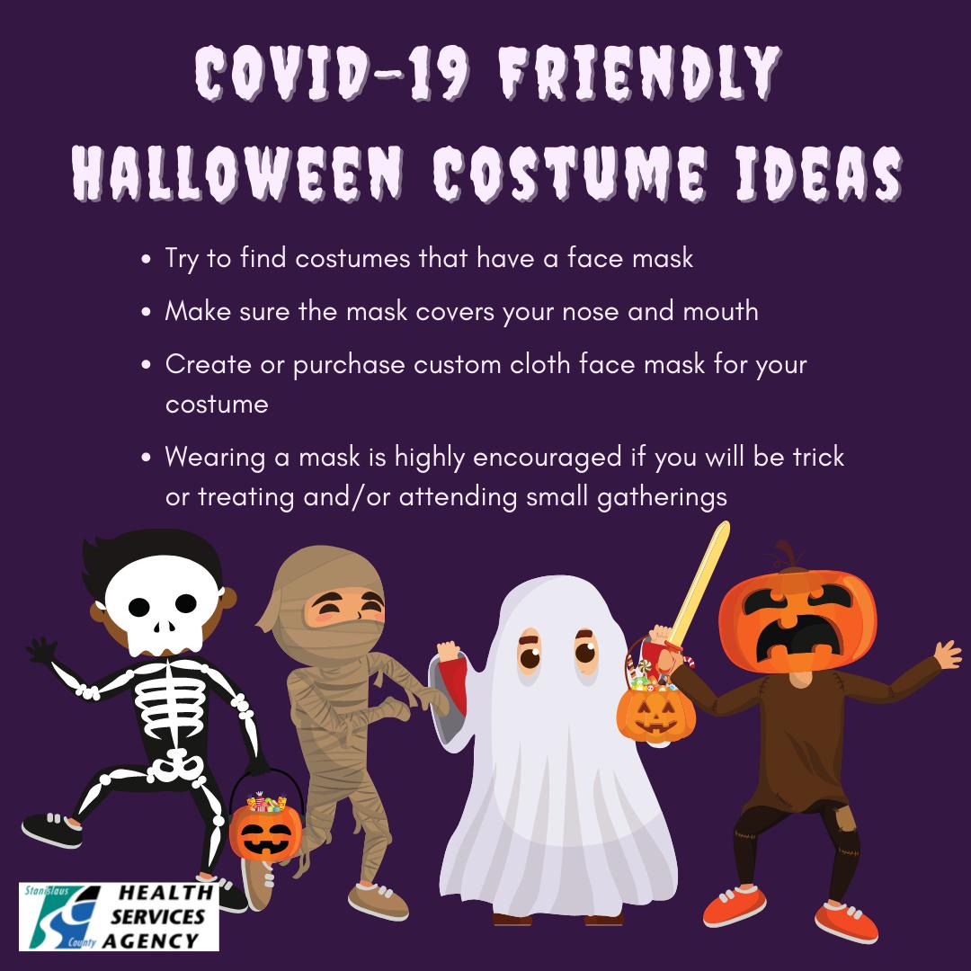 COVID Friendly Halloween Costume Ideas
