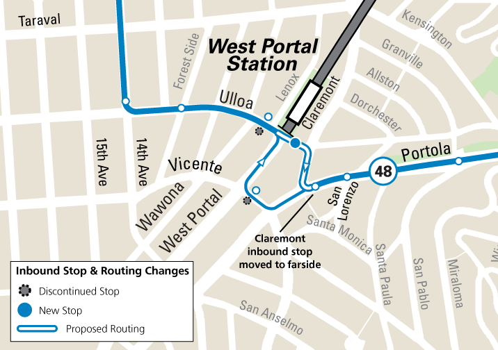 48 Bus route changes for June 8
