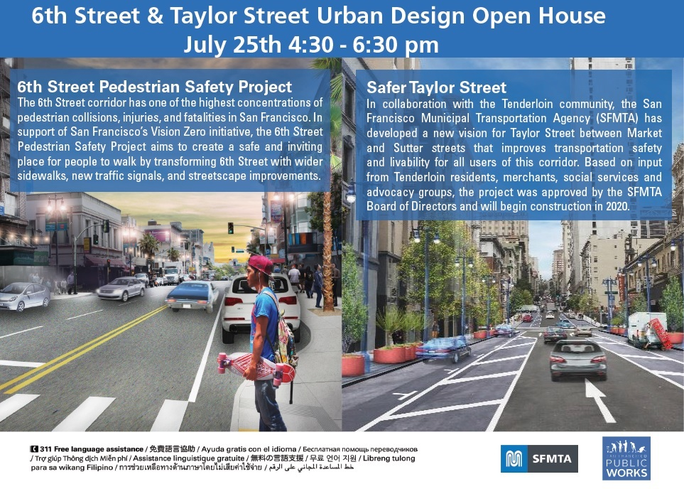 6th and Taylor Open House July 2019