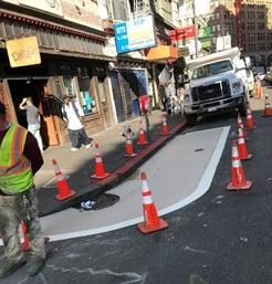 New Pedestrian Safety Zone
