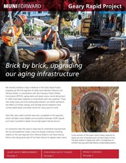 Geary Rapid Project winter 2020 newsletter