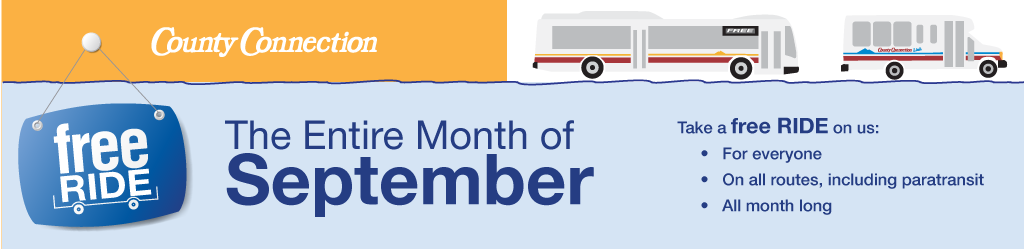 Free Fares in September