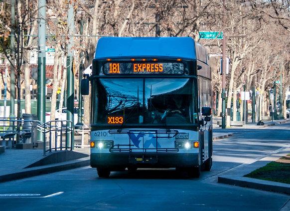 artsy bus photo