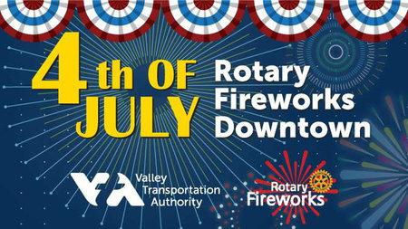 rotary fireworks