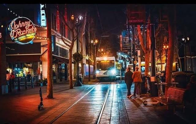 night light rail shot