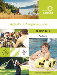 Spring 2018 activity guide cover
