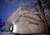 City Hall winter