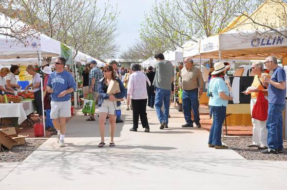 Photo of the farmer's market in Boulder