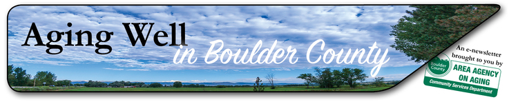 Aging Well in Boulder County
