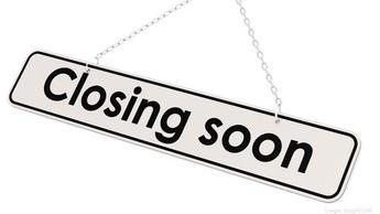 Closing soon
