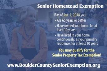 Senior Homestead flyer 2018
