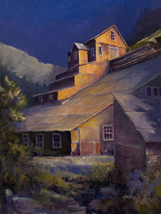 Painting of Cardinal Mill