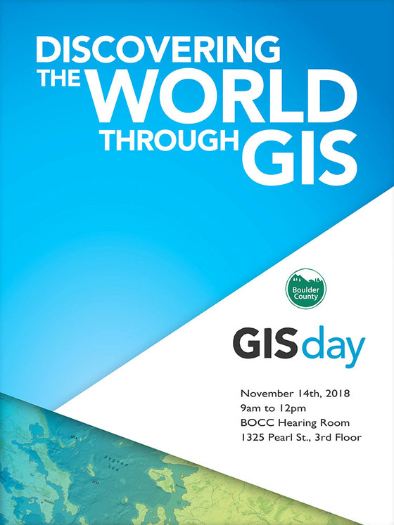 Boulder County GIS DAY 2018