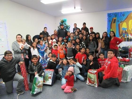Casa de la Esperanza Christmas party