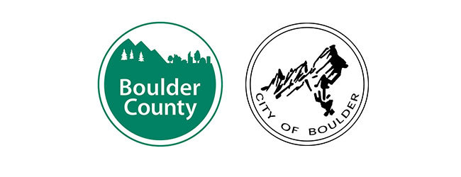City of Boulder and Boulder County logos