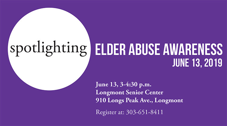 elder abuse awareness 2019