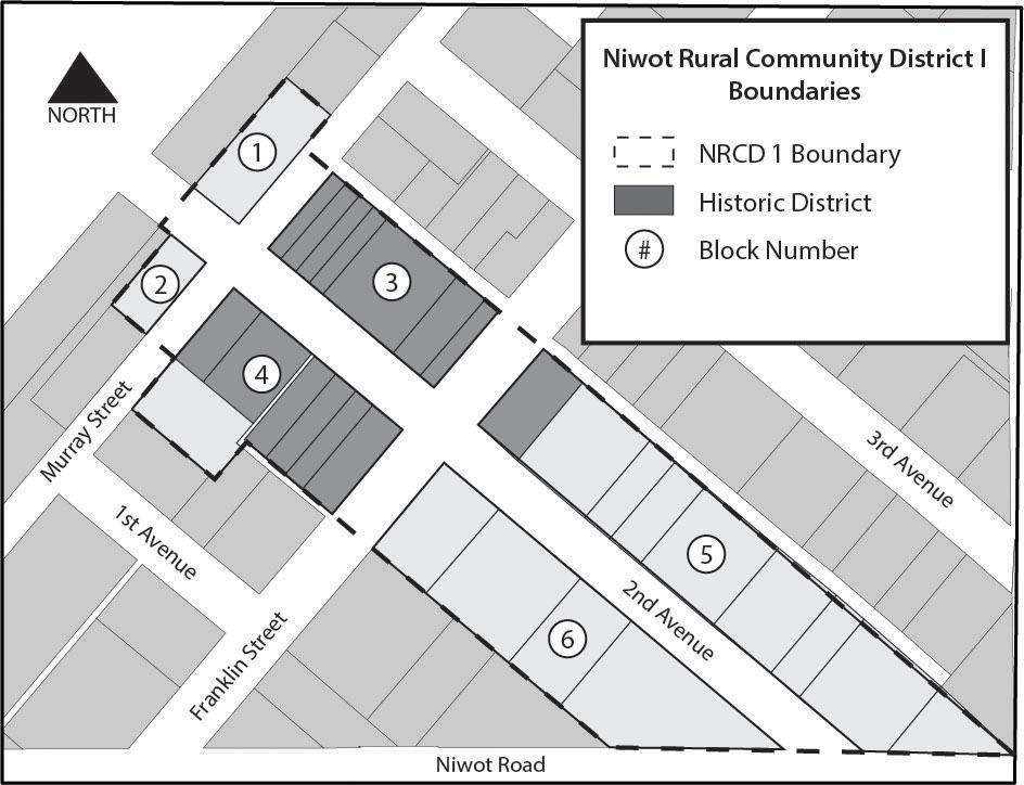 Niwot NRCD 1 map