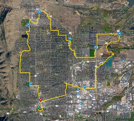 2019 Planning Highlights Bike Tour in Boulder