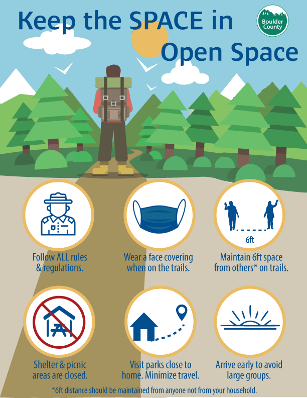 Graphic of trail tips