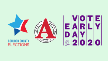 Vote Early Day event graphic