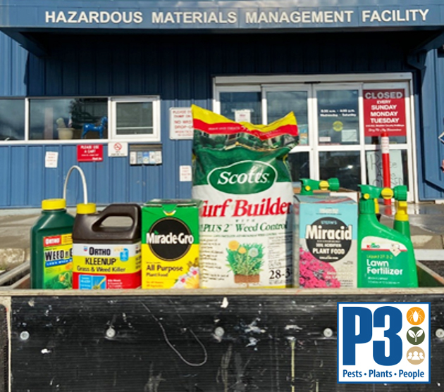 Pesticides in from of HMMF