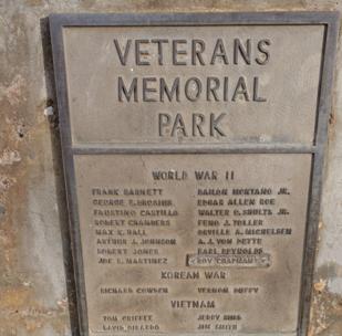 flag pole memorial