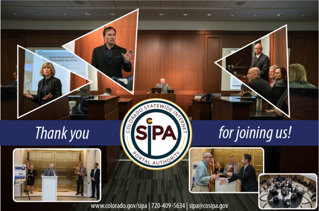 Thank you for joining the SIPA User Conference if you were able to make it
