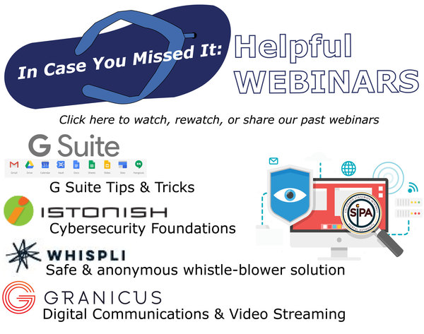 Watch our webinars here! Learn more and more effectively serve your residents!