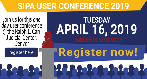 SIPA User Conference - Register now!