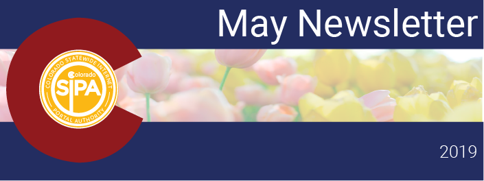 May Newsletter header