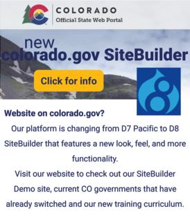 Click for more info on co.gov new Drupal 8 Site Builder - image