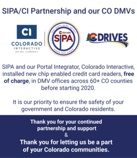 Thank you for partnering with sipa and ci across the state in DMVs - image