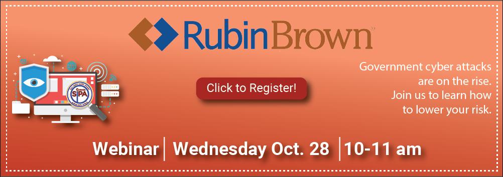 RubinBrown Webinar