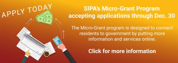 Micro-Grant Program Open Now