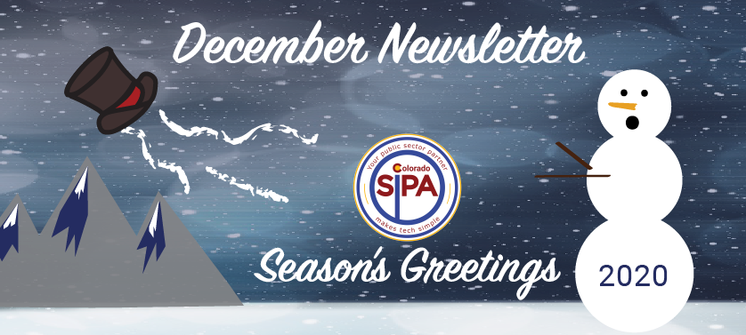 December Newsletter- Season's Greetings!