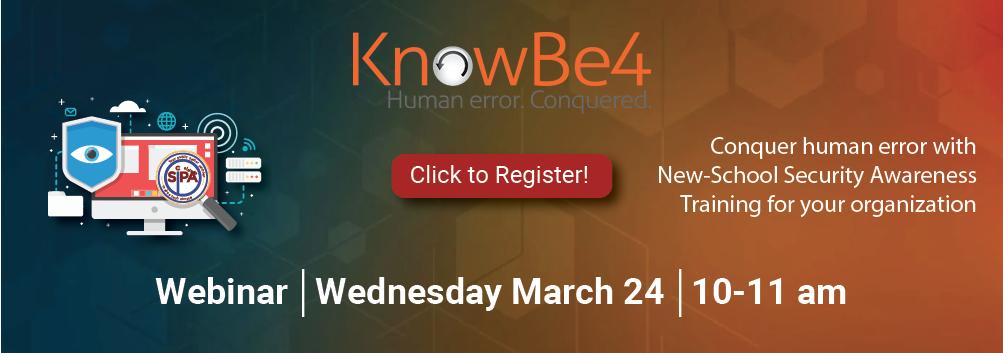 KnowBe4 Webinar