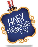 Happy Presidents' Day graphic