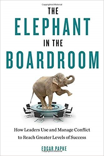 Elephant in the boardroom cover image