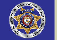 Boulder County Sheriff's badge image