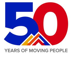 RTD 50th Anniversary Logo