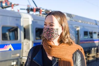 Masked individual