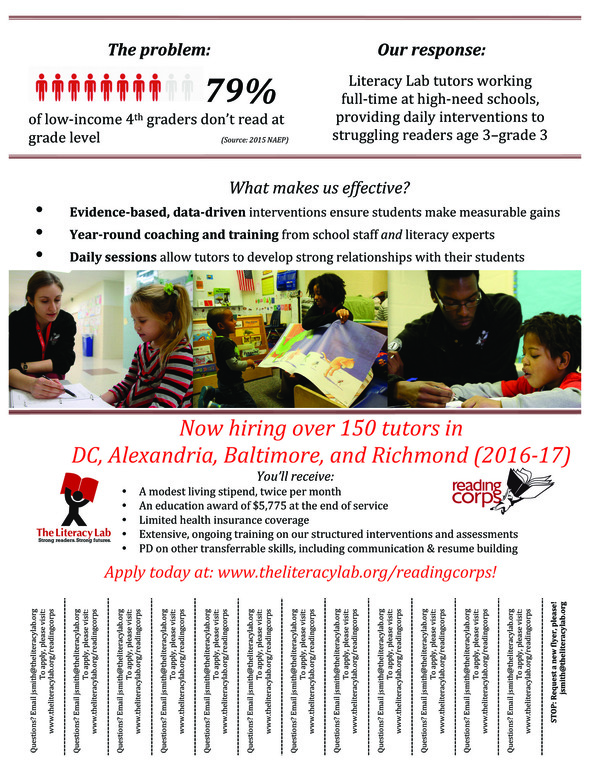 Literacy Lab is hiring