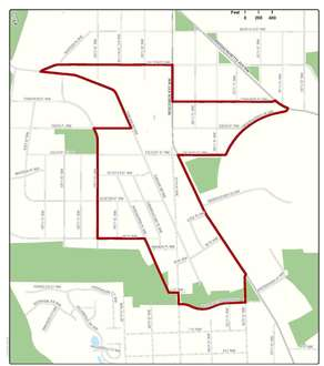 Glover Park Moratorium Zone Map