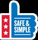 Safe & Simple Logo