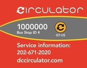 DC circulator flags