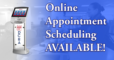 Online Appointment Scheduling Graphic